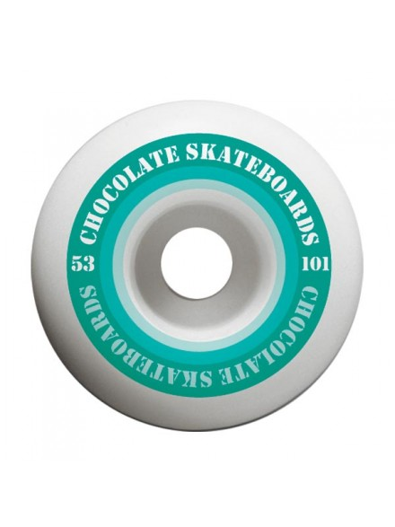 Ruedas Skate Chocolate Finish Line Hard 53 mm