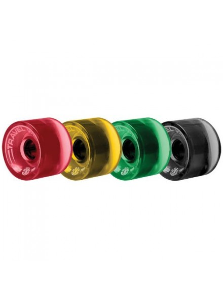 Ruedas Skate Element Brdwalk Spin Rasta 70 mm