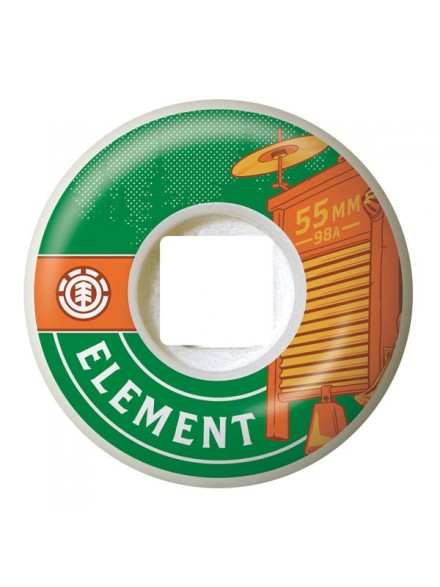 Ruedas Skate Element Moonshine Wash 55 Mm