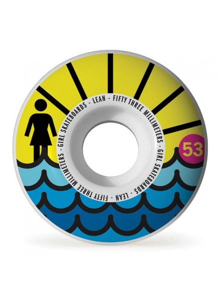Ruedas Skate Girl Beach Club 53 mm