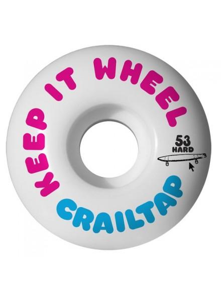 Ruedas Skate Girl Crail Keep It Hard 53 mm
