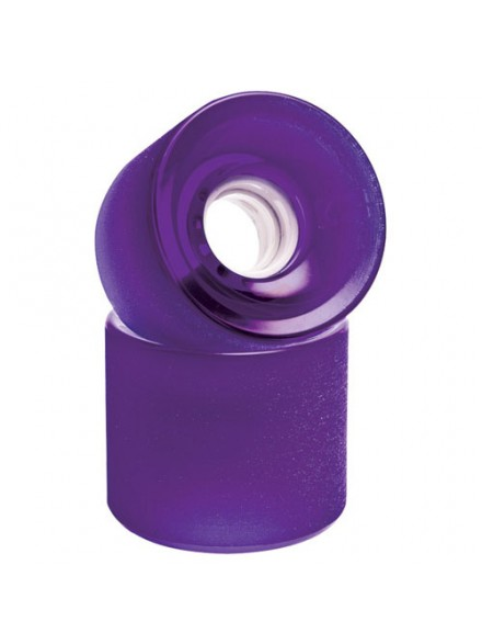 Ruedas Skate Globe Bantam Icon Set Of 4 Clear Purple 62