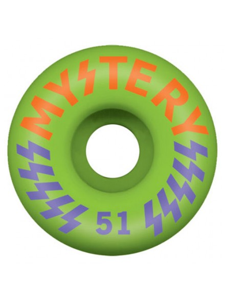 Ruedas Skate Mystery Victory Green 51 Mm