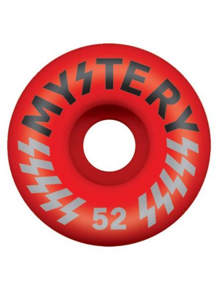 Ruedas Skate Mystery Victory Red 52 Mm