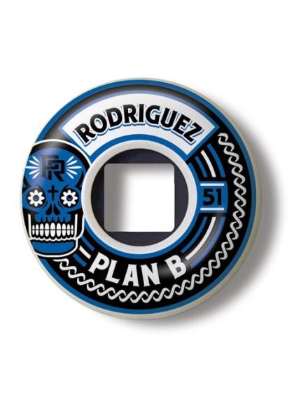 Ruedas Skate Plan B Rodriguez Crest 51 Mm