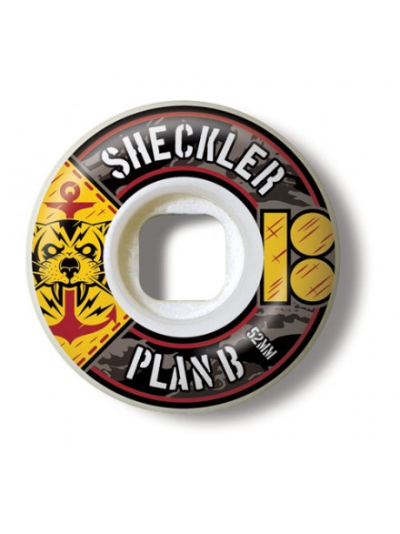 Ruedas Skate Plan B Sheckler Bdu 52 Mm