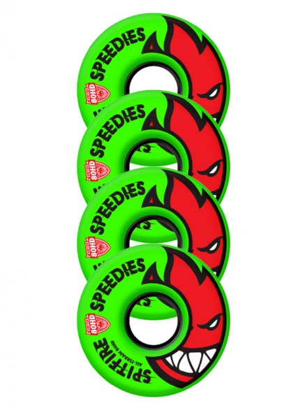 Ruedas Skate Spitfire 80hd Bighead Spds Mltdwn 54mm