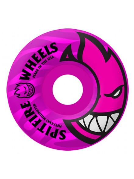 Ruedas Skate Spitfire Bighead Tonals Pink 52 Mm