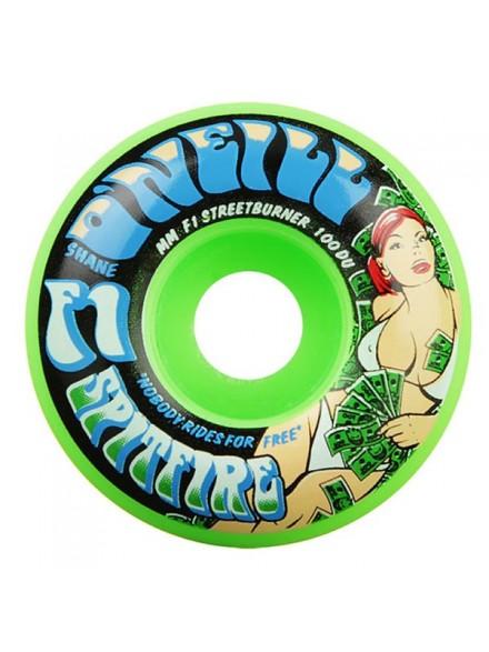 Ruedas Skate Spitfire F1 Sb Grass Oneill Green 53mm