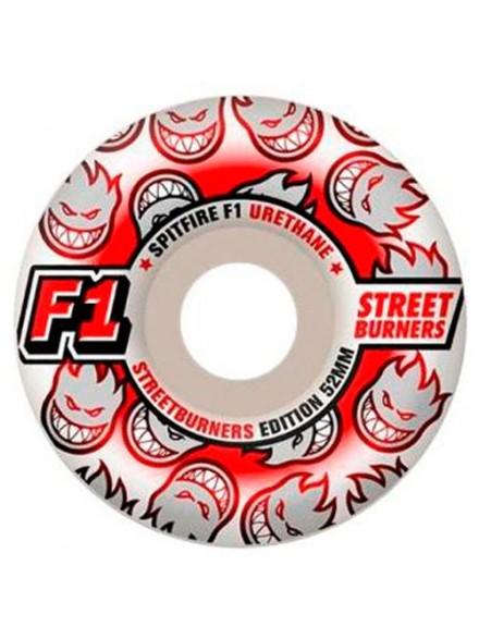 Ruedas Skate Spitfire F1 Streetburnrs 52 Mm