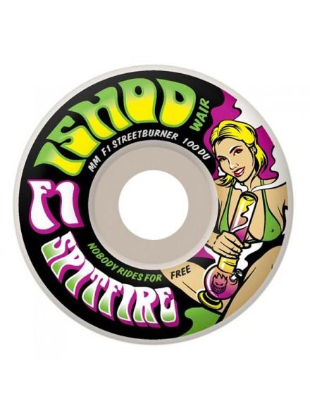 Ruedas Skate Spitfire F1 Sb Grass Wair Wht 51mm