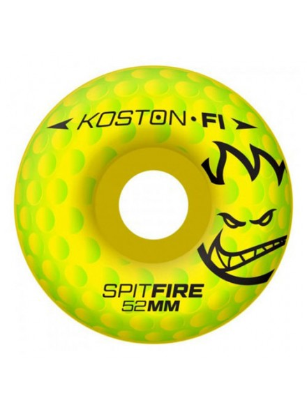 Ruedas Skate Spitfire F1sb Koston Hole F1 Neon 52 Mm