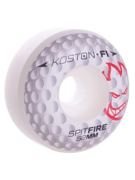 Ruedas Skate Spitfire F1sb Koston Hole F1 Wht 52 Mm