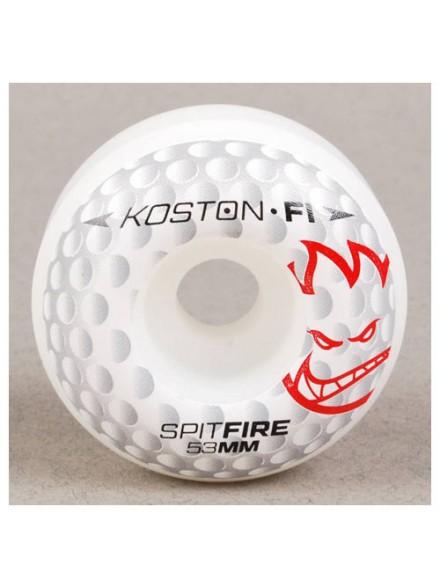 Ruedas Skate Spitfire F1sb Koston Hole F1 Wht 53 Mm