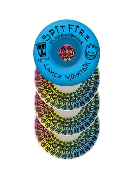 Ruedas Skate Spitfire F1sb Mountain Vato Swirl 58mm