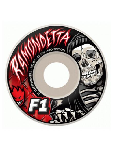 Ruedas Skate Spitfire F1sb Ramondetta S.Graves 52 Mm