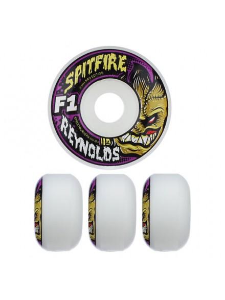 Ruedas Skate Spitfire F1sb Reynolds Mnstr Wht 53 Mm
