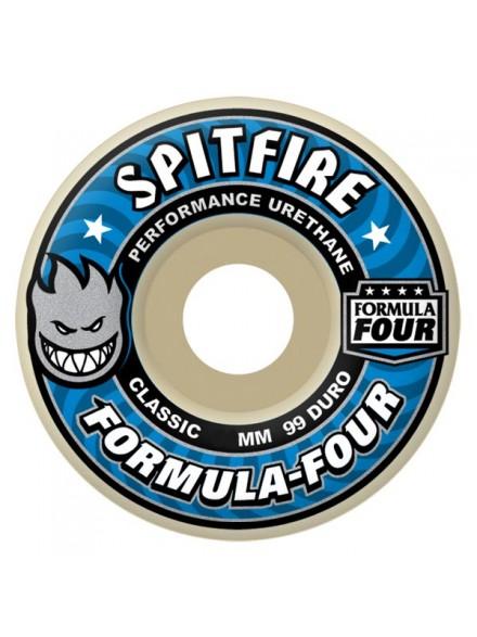 Ruedas Skate Spitfire Formula Four 99d Clsc 52mm