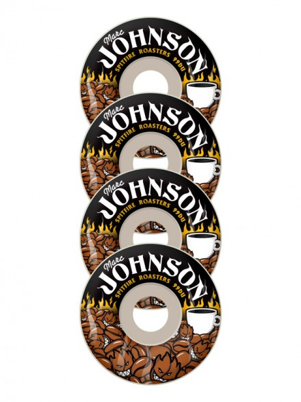 Ruedas Skate Spitfire Johnson Roasters Wht 53mm