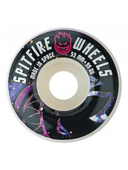 Ruedas Skate Spitfire Spaced Out 53 Mm