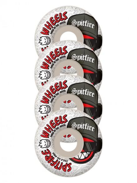 Ruedas Skate Spitfire Streetz Wht 54mm