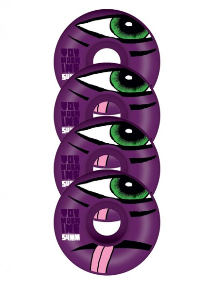 Ruedas Skate Toy Machine Sect Purple 54mm