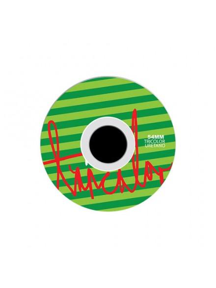 Ruedas Skate Tricolor Sandia 54 Mm
