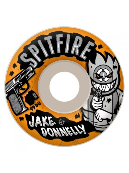 Ruedas Skate Spitfire Donnelly Sure Shot 53mm