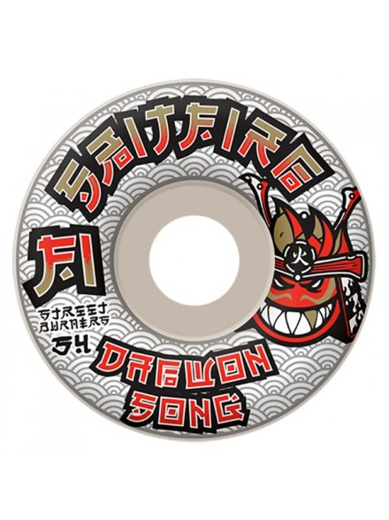 Ruedas Skate Spitfire F1 Sb Song Mercenary Wht 54mm