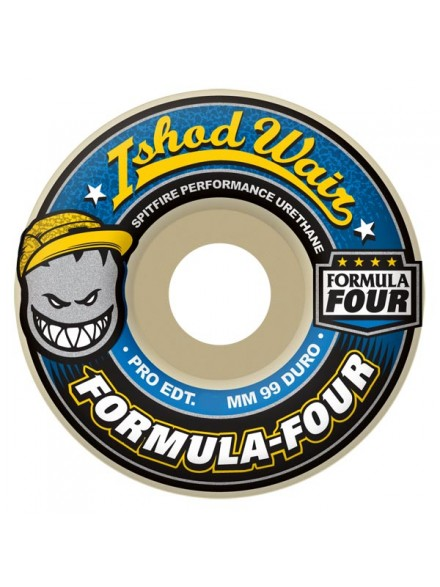 Ruedas Skate Spitfire Formula Four Wair 99d 52mm