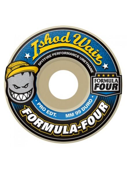 Ruedas Skate Spitfire Formula Four Wair 99d 54mm