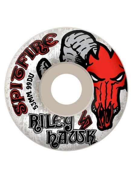 Ruedas Skate Spitfire Riley Hawk Wht 53mm