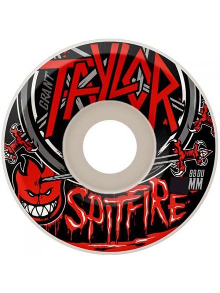 Ruedas Skate Spitfire Taylor No Mercy Wht 54mm