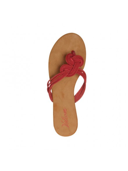 Sandalias Volcom Happy Me Red 5