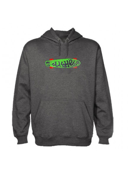 Sudadera Cliché Trocadero P/O Charcoal Heather