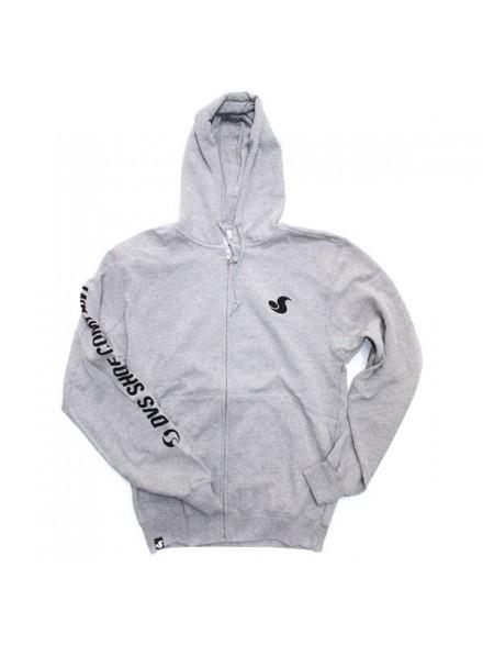 Sudadera Dvs Typecast Zip Grey/Blk