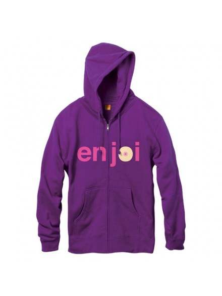 Sudadera Enjoi Boobie Zip Purple