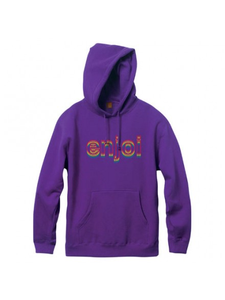 Sudadera Enjoi Outlines P/O Purple M