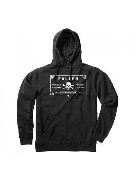Sudadera Fallen 100 Proof Blk