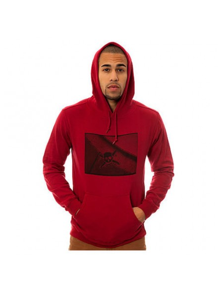 Sudadera Fourstar Photo Print Scarlet M