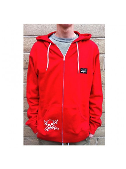 Sudadera Fourstar Pocket Pirate Zip Red S