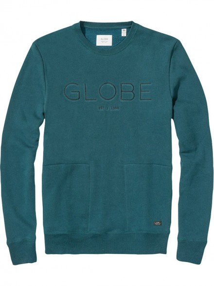 Sudadera Globe Mod Crew Sea Port