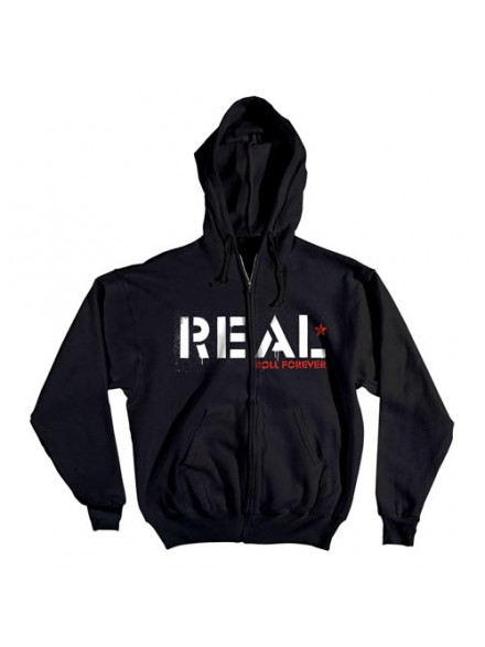 Sudadera Real Infantry Black Small