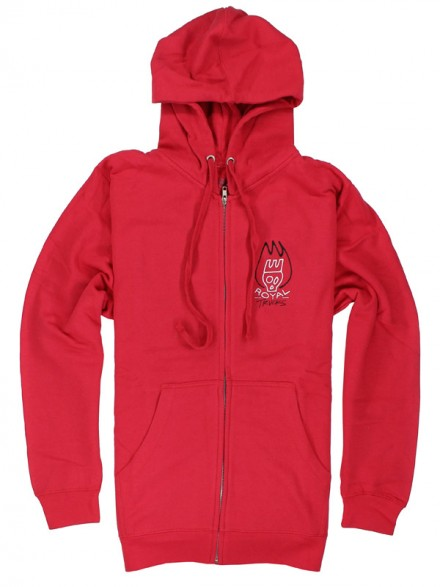 Sudadera Royal Burn Zip Red