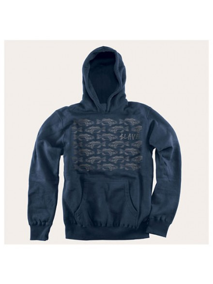 Sudadera Slave Bass Destruction Navy/Grey S