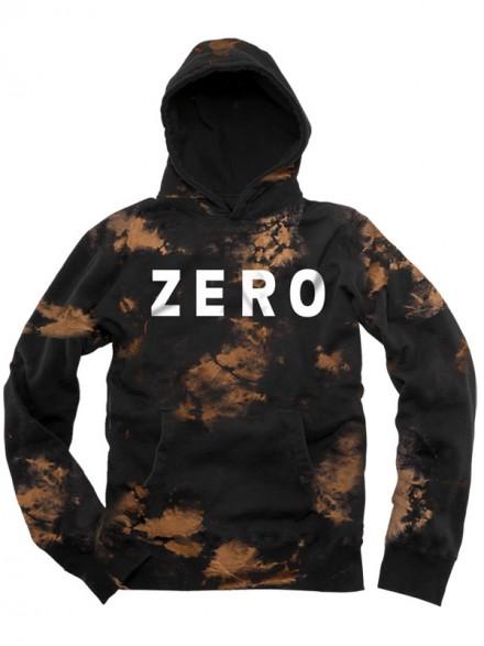 Sudadera Zero Army Bleach Black