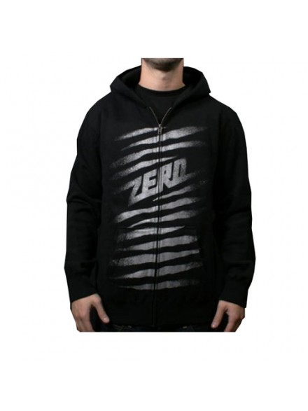 Sudadera Zero Ripper Zip Hood Youth Black Medium