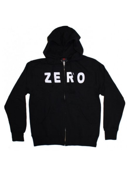 Sudadera Zero Zip Army Black M