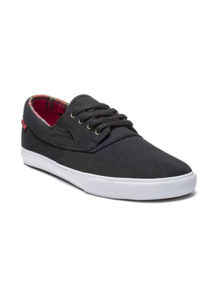 Tenis Skate Lakai Camby Black Textile