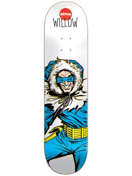 Tabla Almost Captain Cold Willow 7.75
